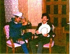 Foto del Recuerdo: Humberto Moreira con el secuestrador Ariel Maldonado Leza (son compadres)